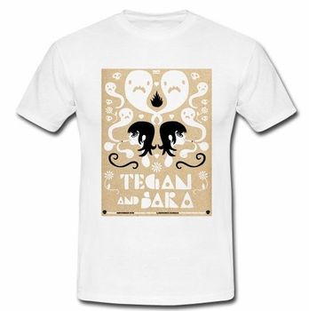 TEGAN VE SARA TAD ARABA PENTER INDIE SINGING DUO KURDU T-SHIRT TEE Sml XL 2XL