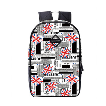 England flag high school backpacks for boys bookbag children school bags kids bag boy laptop backpack schoolbag back pack