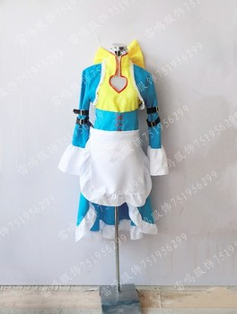 2016 Japon Anime Code Geass Nunnally Vi Britannia anime kostüm cosplay