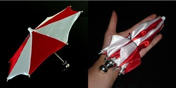 Super Mini umbrella in 21cm (3 colors)  - trick, , Fire magic Magic trick classic toys