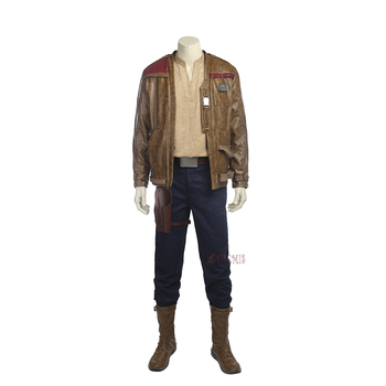 Athemis Movie Star Wars Finn Cosplay Kostüm custom made Elbise Yüksek Kalite