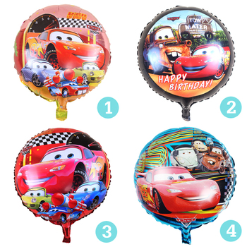 The new hot 1 pcs / lots Cars aluminum balloons decorated children's birthday party balloon toy wholesale
