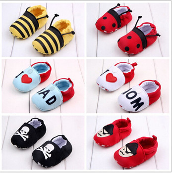 Spring and Summer Baby Shoes Soft Soled Baby first Walker bebe Sapatos Infants Toddler Antislip Shoes